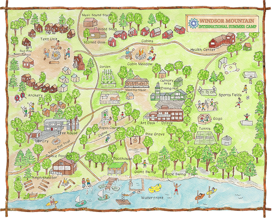 Interactive Map Windsor Mountain - Windsor map