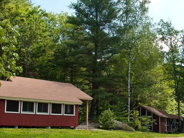 Cabin and summer camp facilities rental for events